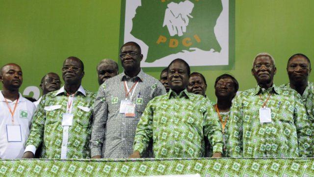 Le monarque  Bédié a vendu la Côte d'Ivoire et son secrétariat est en mission pour faire gagner le RHDP à toutes les élections.