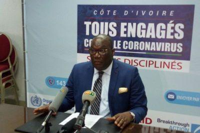 Infection à la Covid 19 en Côte d'Ivoire : 3 024 cas confirmés, 1501 patients guéris
