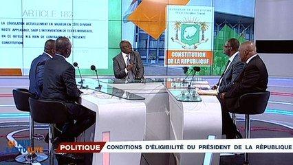 Ça fait l'actualité du 19 août 2020 : La Constitution de 2016 et l'éligibilité du Président Ouattara