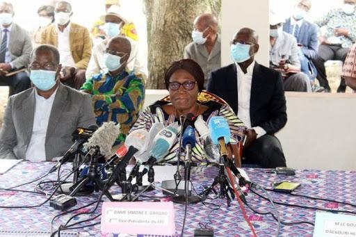 Situation politique en Côte d'Ivoire: Simone Gbagbo face à la presse ce Jeudi 27 Août