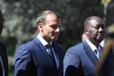 Côte d'Ivoire : Emmanuel Macron félicite le président Alassane Ouattara pour sa réélection.